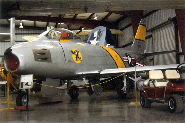 The North American F86F Sabre